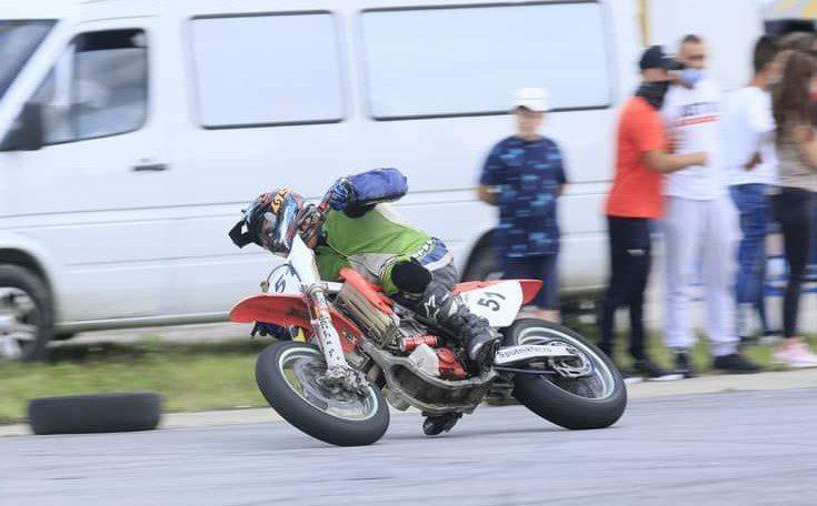 Arădeanul Attila Gergely e campion național Supermoto, categoria amatori