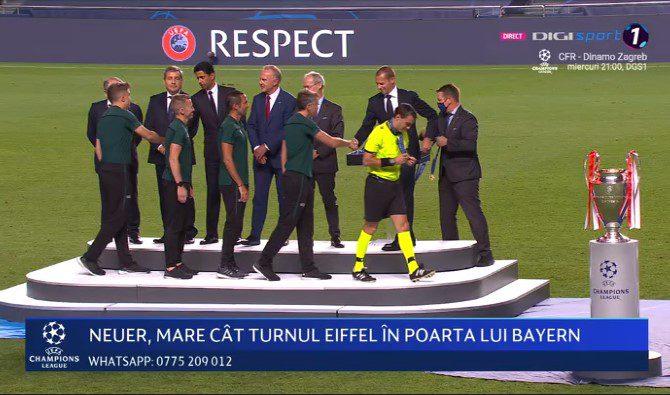 Arădeanul Hațegan, martor la bucuria lui Bayern Munchen pentru victoria din finala Champions League contra lui PSG!