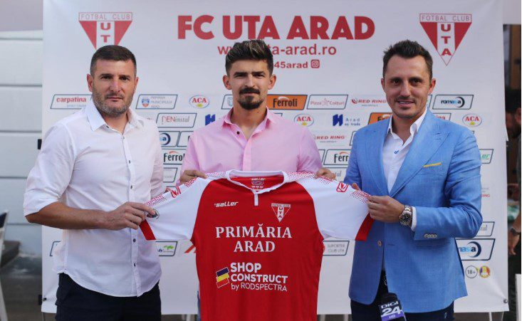 """Vlăduț Morar îi dă bătăi de cap lui Balint prin transferul la UTA: """"Un fotbalist de o calitate incontestabilă care creează concurență și mie probleme plăcute"""""""