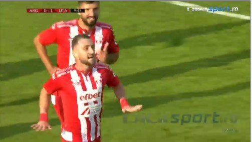 """Bustea, la primul gol în Liga 1 și ce gol: """"Nu mă pot bucura, trebuia să câștigăm la câte ocazii am avut"""""""