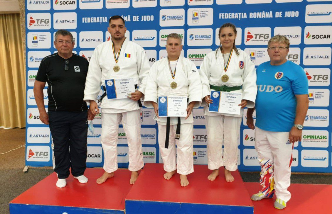 Trei medalii naționale pentru judoka arădeni…într-un hotel de la Poiana Brașov