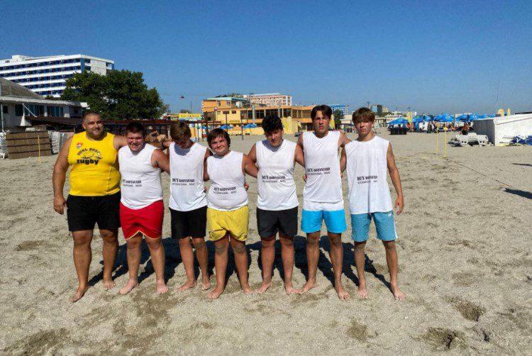 """Rugbiștii arădeni, printre remarcații competiției """"Oval Touch"""" de la Mamaia"""