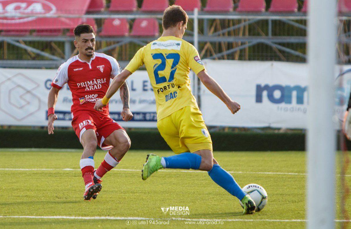 """Roumpoulakou, unul dintre utiștii (re)câștigați după play-offul Ligii a 2-a: """"Apăsați de miza și presiunea meciurilor, Liga 1 – o competiție de anduranță"""""""