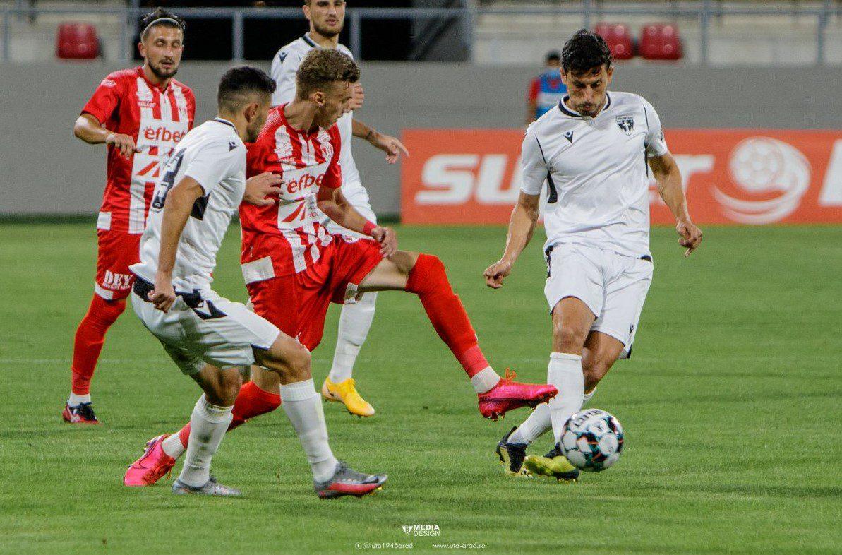 """Juniorul Tescan, omul testului cu Hermannstadt: """"Prind încredere de la meci la meci, iar asta și datorită colegilor și stafului tehnic"""""""