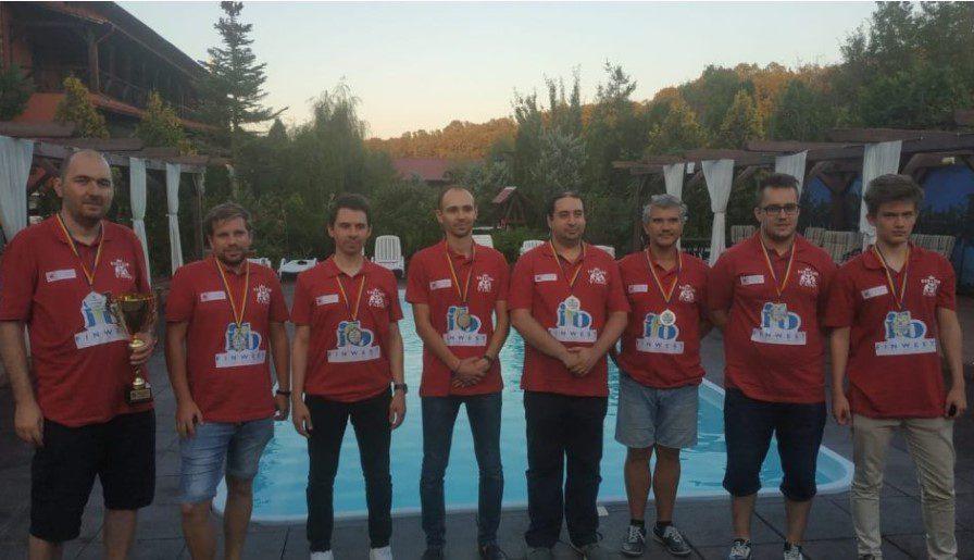 """Şah Club Vados Arad este noua vicecampioană națională, iar """"aurul"""" nu a fost departe"""