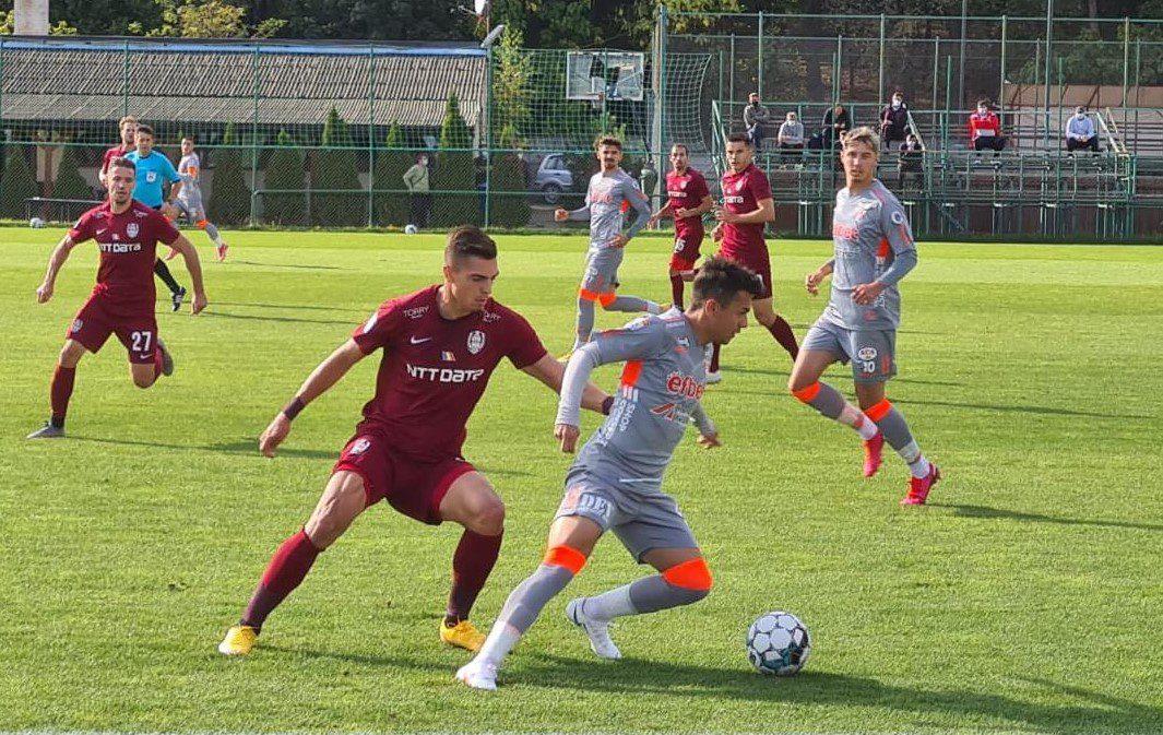 Acțiunile personale ale lui Păun și Rondon au decis: CFR Cluj – UTA 2-0, în meci amical