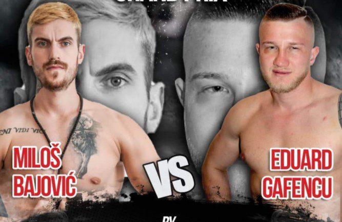 """Gafencu se bate cu sârbul Bajovic la """"Dey Grand Prix Colosseum"""", arădeanul – în fața unuia dintre cele mai tari meciuri din cariera de profesionist!"""
