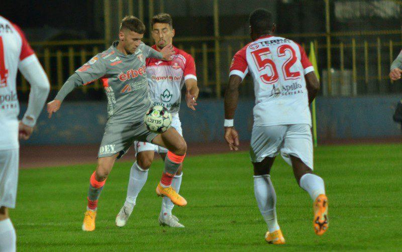 """Isac, integralist la debutul în Liga 1: """"Consider că am fi meritat victoria, data viitoare sper să-mi ajut și mai mult echipa"""""""