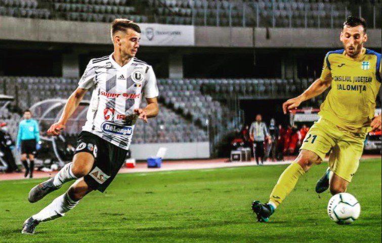 Liga a II-a, etapa 7-a: Ineuanul Denis Mâneran a marcat primul său gol în Liga 2-a în succesul Universității Cluj la Turnu Măgurele