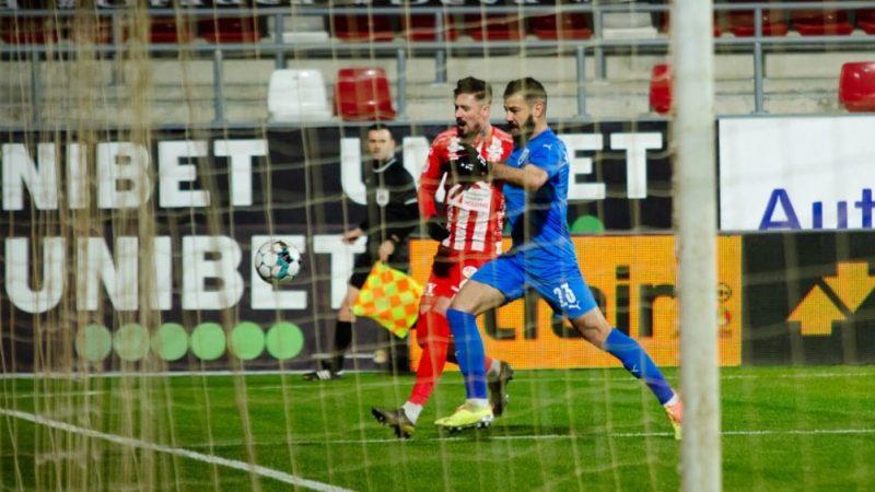 """Albu a avut pe cap golul de 2-2 contra Craiovei: """"Nu cred cau fost mai buni decât noi, meritam măcar un egal"""" + FOTO"""