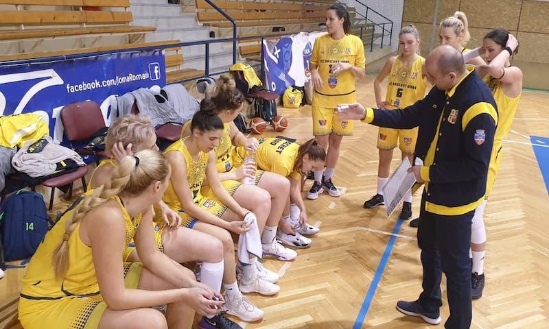"""Ocolite de COVID, baschetbalistele arădence nu concep să piardă puncte cu """"Simona Halep"""" și Alexandria la turneul de pe Litoral"""