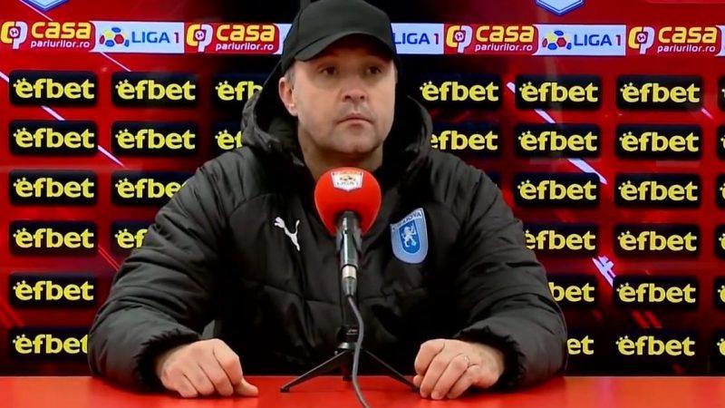 """Papură și CS U Craiova și-au atins scopul la Arad: """"UTA nu ne-a pus probleme, nu ne-a surprins cu nimic"""""""