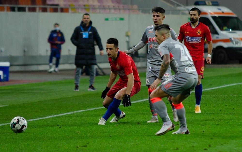 """Debutant pe Arena Națională, Rusu a prins poftă și de alte stadioane mari din Europa, dar: """"Acum cea mai mare dorință este să joc la Arad, cu suporterii noștri alături"""""""