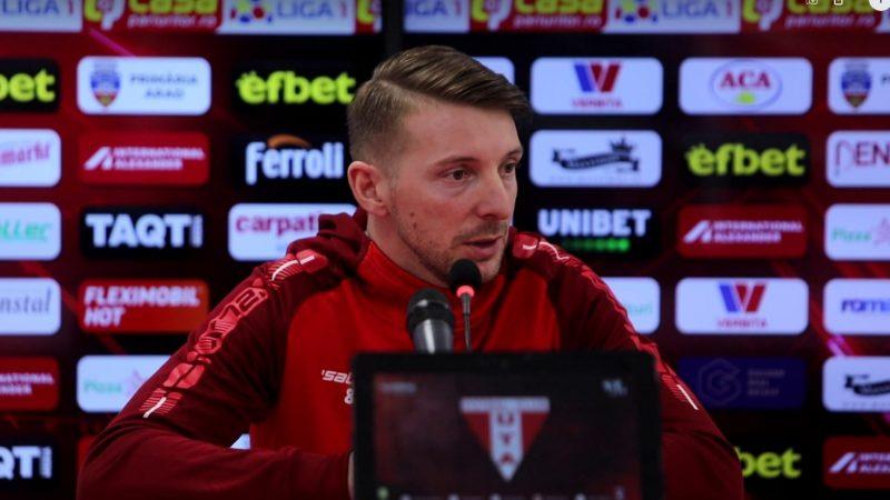 """Utistul Antal, în căutarea primului gol în Liga 1 după o pauză de patru ani și trei luni: """"Sper să marchez cât mai repede, știu că lumea are așteptări mari de la mine"""""""