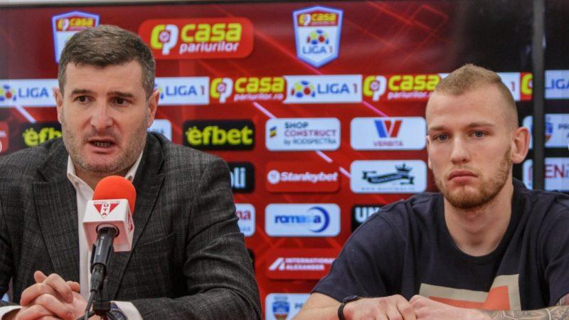"""UTA rămâne pe piață pentru încă doi-trei fotbaliști: """"Ne dorim doar certitudini, de tipul lui Roger, Mode și Liviu Antal"""""""