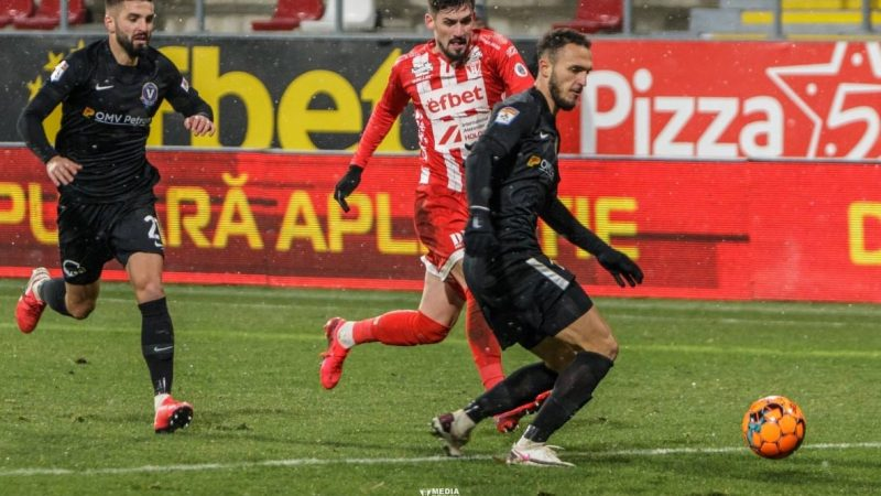 LPF-ul și televiziunile au schimbat din pix ora de începere a meciului UTA – FC Argeș! Vezi când se va auzi primul fluier sâmbătă!