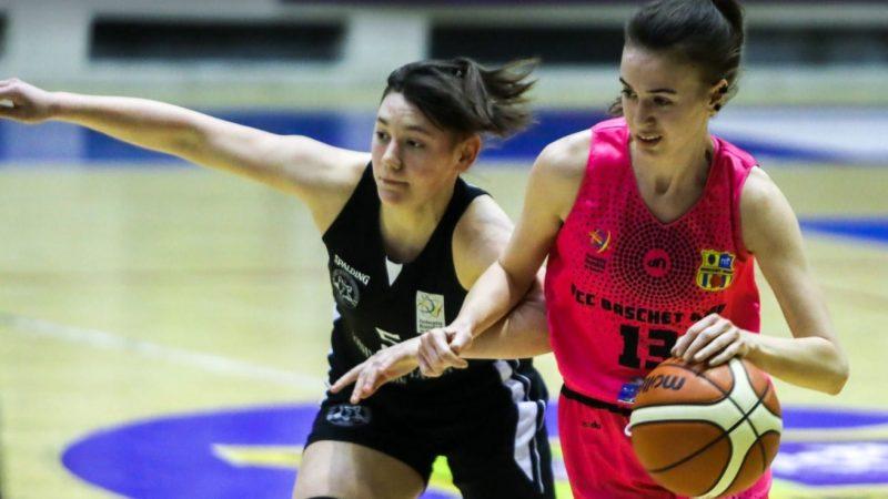 Încălzire cu scor record pentru derby-ul cu Satu Mare: FCC Baschet UAV Arad – CSU Rookies Oradea 94-18
