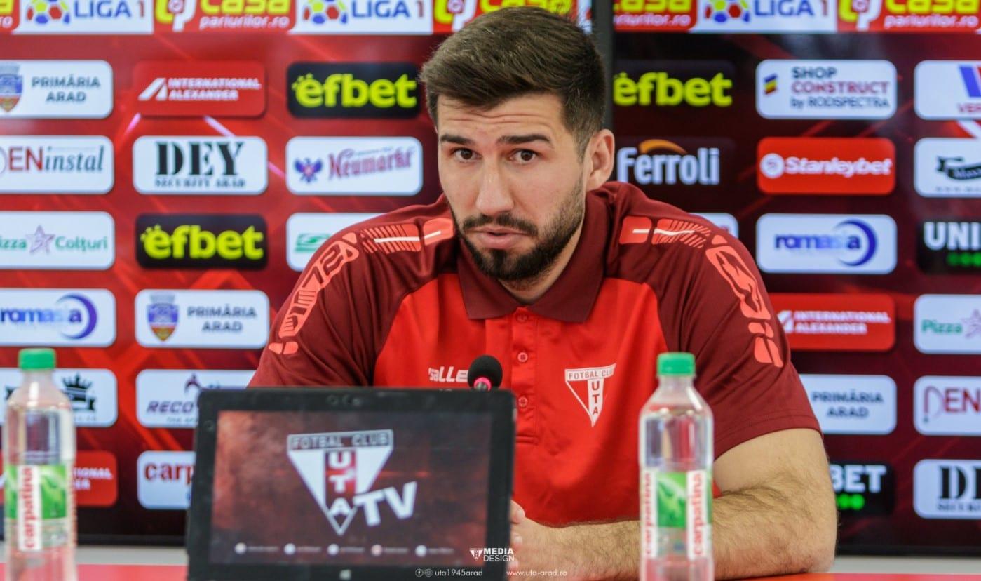 """Florin Ilie, chemat """"sub arme"""" la Mediaș: """"Mergem să ne recuperăm punctele din tur, contează că am jucat cu Melinte și în Liga 2-a"""""""