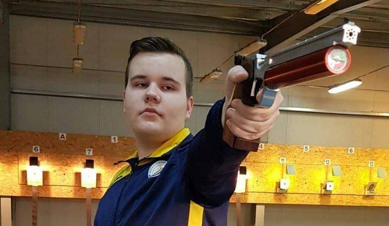 Pistolarii CSM-ului arădean, primele medalii pe 2021: Luca Joldea – triplu campion naţional şi încă un record personal!