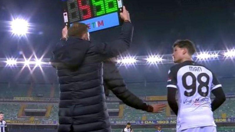Arădeanul Man, aproape de primul assist în Serie A în cele 7 minute jucate în Verona – Parma 2-1