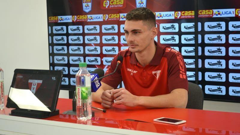 """Peteleu, la primul tricou de titular cu Botoșaniul? """"Vrem să câștigăm, dar orice punct e important de acum înainte. Ar fi frumos să ajungem în play-off!"""""""