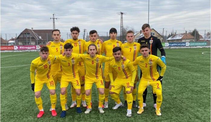 Arădeanul David Petruț, titular în victoria României U17 contra Ungariei