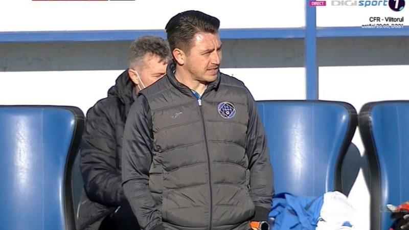 """Poenaru, contrariat de """"scurtcircuitul"""" cu UTA: """"A fost cel ma bun joc al nostru de când a început returul, dar, din păcate, fotbalul se joacă pe goluri"""""""