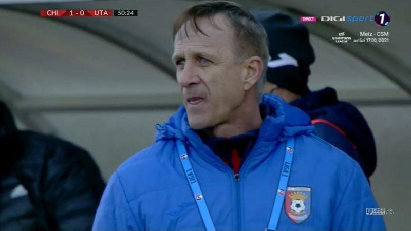"""Săndoi regretă punctele pierdute cu UTA: """"Rezultat nedrept, jucătorii mei s-au dăruit și au anihilat o echipă ce a făcut transferuri incredibile"""""""