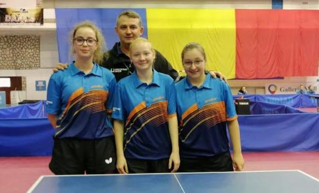 Fetele de la CSM Arad au încheiat pe locul 5 în Superliga de tenis de masă