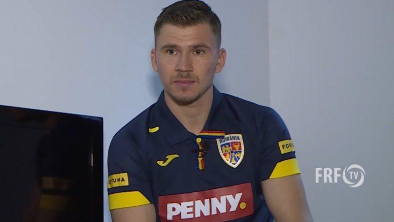 """Iacob, la sosirea în cantonamentul """"tricolorilor"""": """"Când te apuci de fotbal și ajungi jucător profesionist, îți dorești să ajungi la echipa națională"""""""