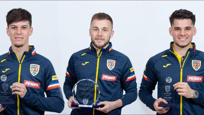 """Arădeanul Man și-a primit trofeul """"tricolorul lunii ianuarie""""! Maxim și Hagi – premiați și ei"""