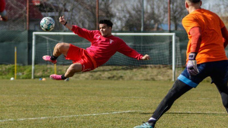 """Utistul Negoescu înfruntă reprezentativa U18 a Ungariei """"sub tricolor"""""""