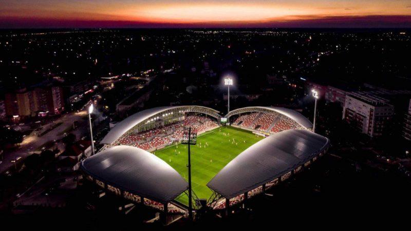 """""""Francisc Neuman"""" din Arad, nominalizat la Stadionul Anului 2020: Casa UTA-ei rivalizează cu cea mai scumpă arenă din lume!"""