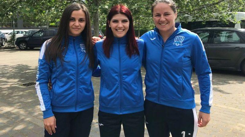A doua promovare la rând în Liga Florilor pentru trei dintre fostele handbaliste ale Crișului