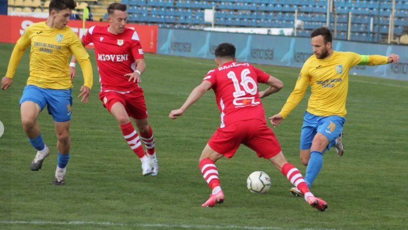 A coborât cortina și peste play-offul Ligii a II-a: CS Mioveni și Dunărea Călărași se vor lupta pentru promovarea în Liga 1 cu FC Hermannstadt și FC Voluntari!