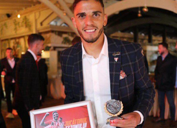 Brazilianul Erico, desemnat cel mai bun fotbalist al UTA-ei în sezonul 2020-2021