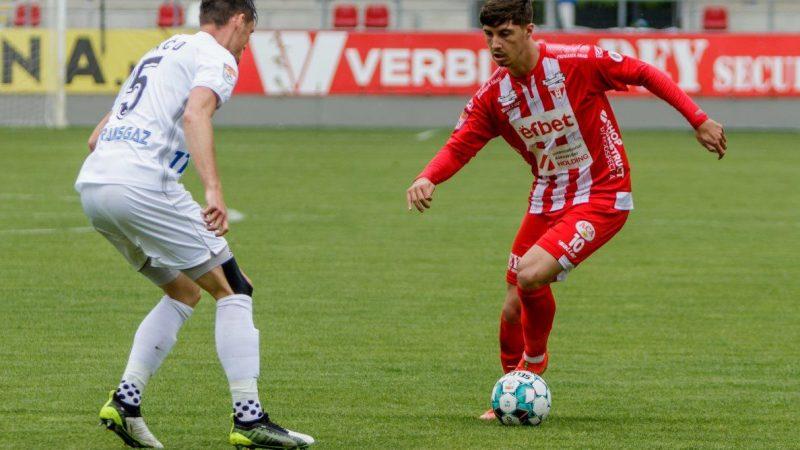Utistul Miculescu a jucat 13 minute în eșecul selecționatei olimpice contra Mexicului