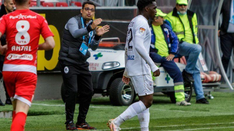 """Teja a recunoscut că echipa sa a jucat slab la Arad: """"Nu am fost noi, dar am încredere că vom câștiga miercuri și vom rămâne în Liga 1"""""""