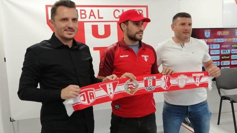 """Argentinianul Juan Pablo Passaglia e noul mijlocaș central al UTA-ei: """"Sunt fericit să fiu la o echipă mare în fotbalul românesc"""""""