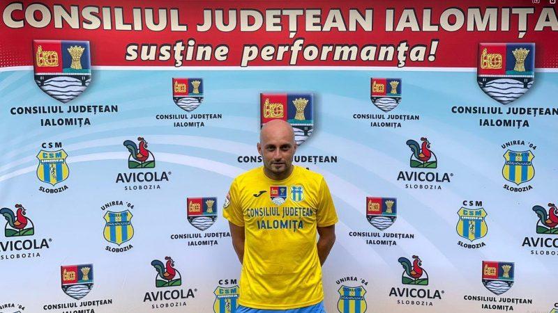 Arădeanul Bogdan Hetco a fost convins de Adi Mihalcea să intre în stafful tehnic al Unirii Slobozia