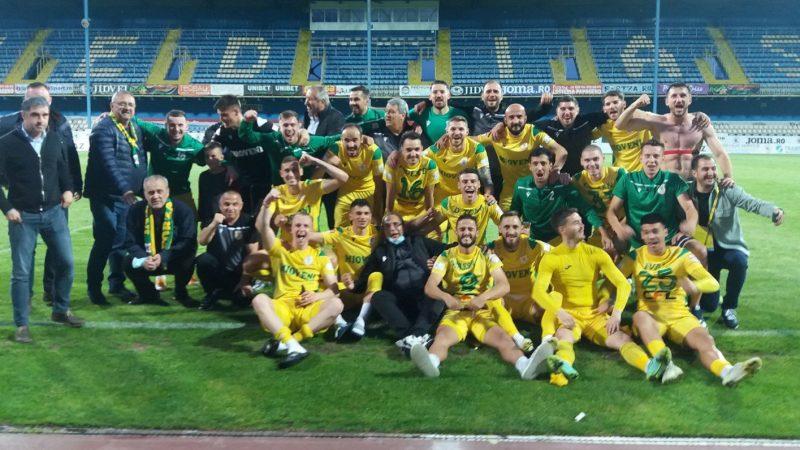 Mioveniul promovează în Liga 1, regretatul Ionuț Popa a fost ultimul antrenor care a câștigat un baraj la cârma unei divizionare secunde!