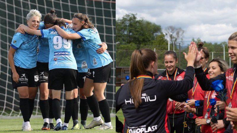 Câștigătoarea Cupei României la fotbal feminin se decide la Arad. Olimpia și Heniu joacă primul meci cu spectatori de pe noua arenă Francisc Neuman!