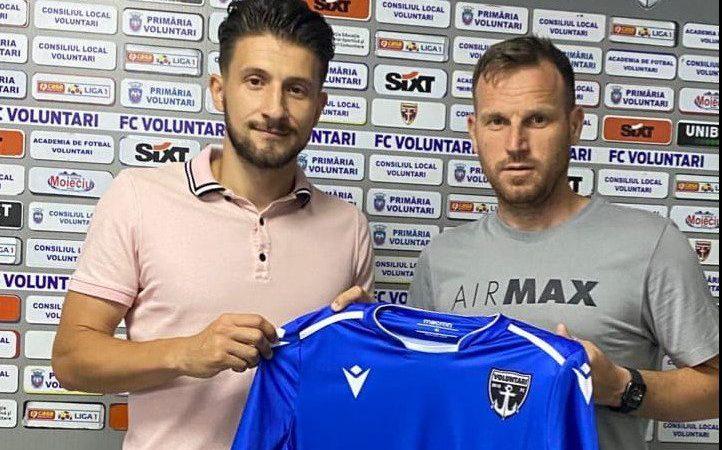 Și Roșu va întoarce armele împotriva UTA-ei în noul sezon, mijlocașul de 27 de ani a semnat cu FC Voluntari!