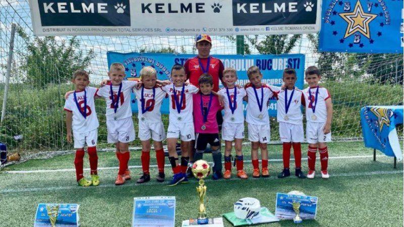 """UTA 2014 a câștigat """"Kids Stars Cup"""" după o finală dramatică cu FCSB"""