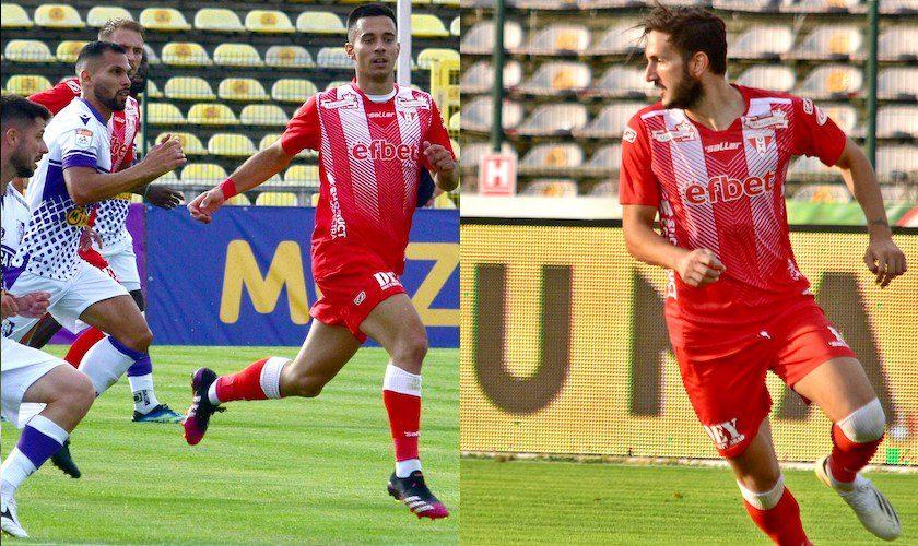 Utiștii Vukcevic și Dangubic, în echipa ideală a etapei cu numărul 2 a Ligii 1