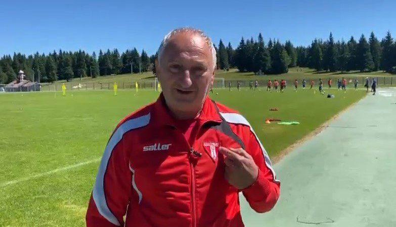 """Dănuț Ifrim s-a întors după 13 ani la UTA! Carismaticul maseur are obiective precise în """"alb-roșu"""": """"Dorință și mai mare de victorie și bună dispoziție"""""""