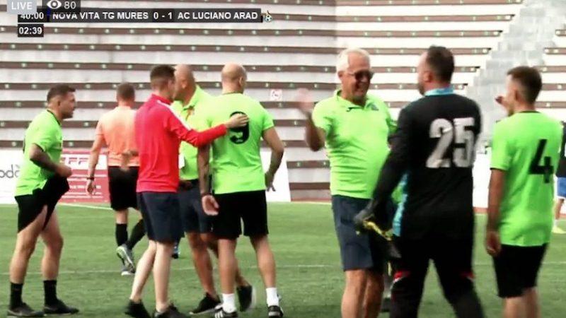 Eroism dus la extrem de Luciano: În 4+1+1, arădenii au bătut campioana României la minifotbal și joacă în sferturi la Râmnicu Vâlcea!