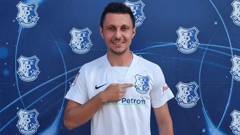 După Petre, un alt fotbalist arădean semnează cu Farul: Purece a câștigat deja campionatul sub comanda lui Hagi!
