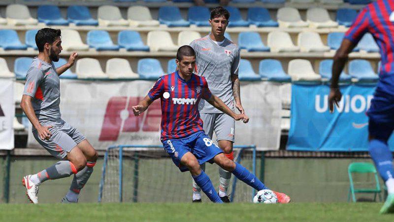 UTA s-a jucat cu ocaziile și a pierdut amicalul cu Hajduk Split