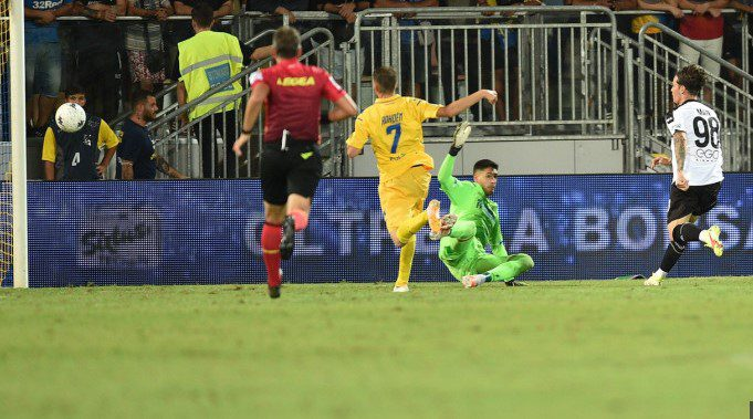 Man a debutat cu gol în Serie B, dar Parma a pierdut două puncte la Frosinone + VIDEO